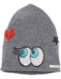 Womens Rangger K?pfl Beanie Hat, Rot (Bordeauxmel
