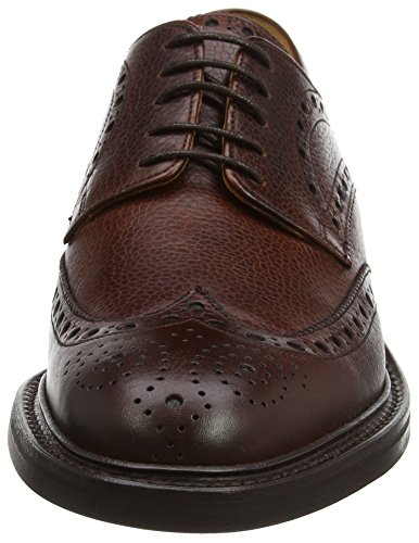 Barker Grassington, Derbys Homme, Marron Purple (Cherry Grain)