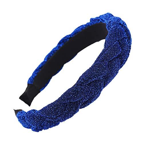 Seide Kostüm Marvel - Yvelands Damen Mode Stirnbänder Breit Haarbänder zöpfe Frauen Haar Kopf Hoop einfache süße mädchen helle Seide haarbänder