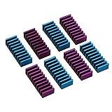 InLine 33955G RAM-Kühler selbstklebende Kühlrippen 8 Stück