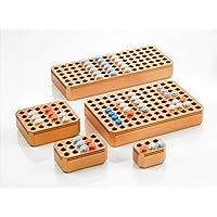 SIMPORT 040875 Portoir Thermo Conducteur ChillBlock, 96 Emplacements, pour Tube, Plaque 1,5, 2 mL