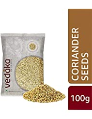 Amazon Brand - Vedaka Coriander (Dhania) Seeds, 100g
