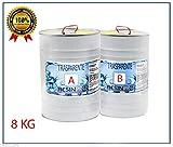 Resina Epossidica Trasparente / KG 8 – Effetto Acqua
