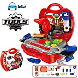 #5: FunBlast Tool Set Toys for Kids, (Set of 19 Pcs) Pretend Play Toy, Little Engineer Pretend Toolbox Construction Tools Suitcase