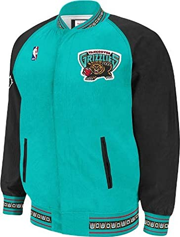 Vancouver Grizzlies Mitchell & Ness NBA Authentic 95-96 Warmup Premium