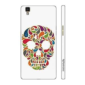 Enthopia Designer Hardshell Case Skull Candy Back Cover for Oppo R7s