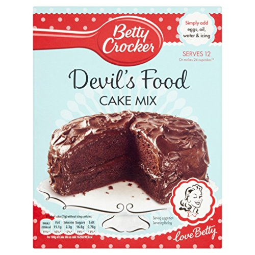 Betty Crocker Devils Food Cake Mix, 425 g Test