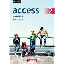 English G Access - Allgemeine Ausgabe: Band 2: 6. Schuljahr - Workbook mit Audios Online