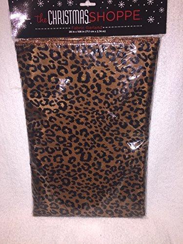 cheetah-print-fabric-garland-28-x-108-copper-trimed-by-hobby-lobby