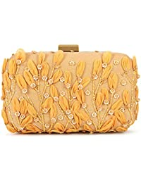 SV-534 SVAZ Designer Delicate Hand Embroidery, Thread Work Clutches For Women And Girls