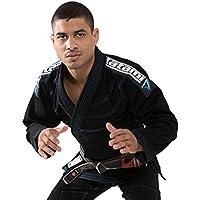 Tatami Fightwear BJJ Gi Elementos Ultralite para Mujer, Mujer, Color Negro, tamaño Size F2