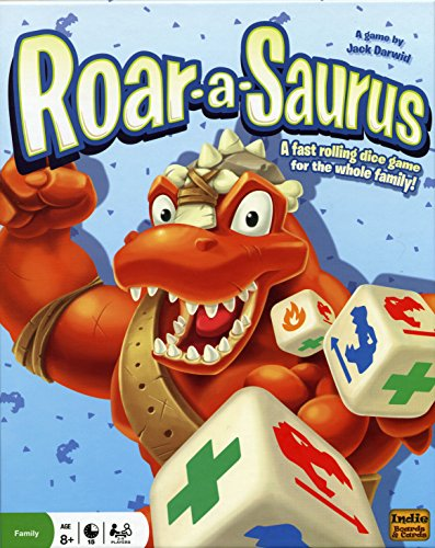 Indie Board & Card Games IBG0RO01 - Brettspiel 'Roar-a-Saurus'