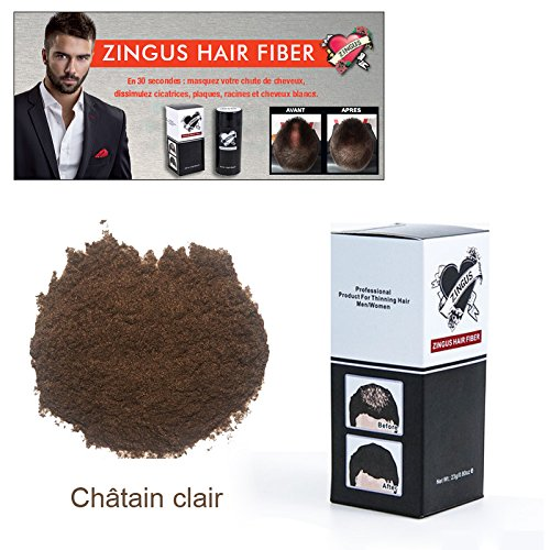 Hair Fiber zingus Chatain clair 23 Grs