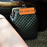 Fashion creative car interior supplies car trash , style black trash