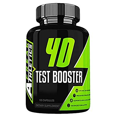 4D Test Booster - Elite Level Testosterone Booster by Freak Athletics - 120 Capsules - Test Booster for Men Made in The UK - High Quality Guaranteed by Freak Athletics