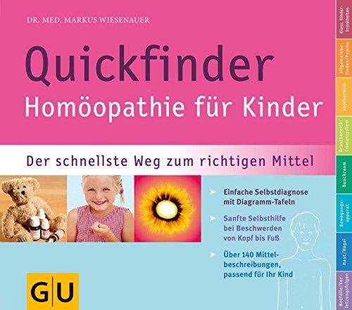 Quickfinder- Homöopathie für Kinder (GU Quickfinder Partnerschaft & Familie) - Natürliche Nierenstein