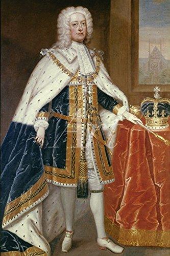 Artland Wandbilder selbstklebend aus Vliesstoff oder Vinyl-Folie Charles Jervas George II, um 1727 Menschen historische Persönlichkeiten Malerei Braun C2SM