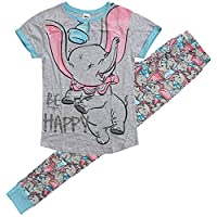 Womens Disney Dumbo Elephant Be Happy Gift Pack Pyjamas Plus Sizes from 8 to 22