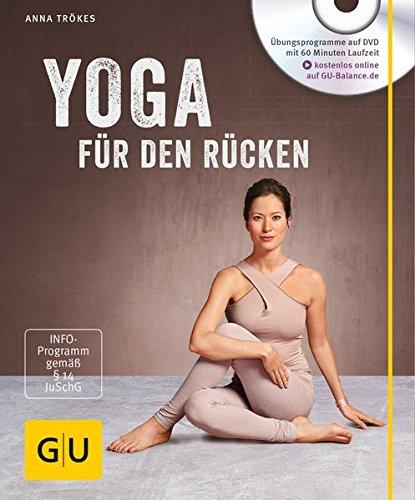 Yoga für den Rücken (mit DVD) (GU Multimedia Körper, Geist & Seele) Buch-Cover