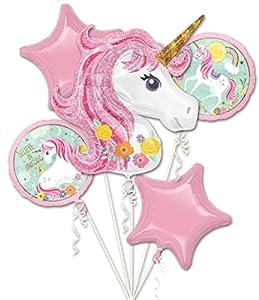 Amscan 3727401 Bouquet Magical Unicorn