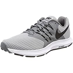 Nike Run Swift, Zapatillas de Running para Hombre, Gris (Cool Grey/Black-Wolf Grey-Black), 39 EU