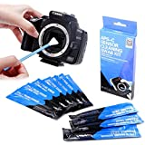 UES Kit de Limpieza APS-C de la sensor de la DSLR cámara Digital (CCD/CMOS) 10 x Torunda 16 mm - Libre de polvo y envasados al vacío