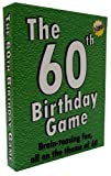 The 60th Birthday Game: a fun gift or present specially for people turning