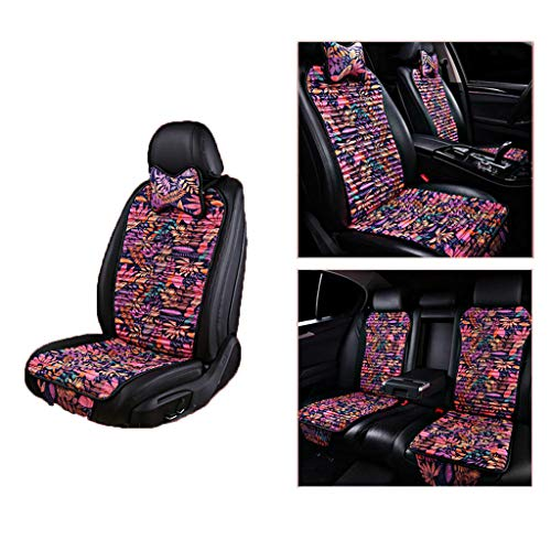 Jahreszeiten Eis Seide Sitzkissen Sitzbezügesets Full Set Universal Kompatibel Airbag mit Kissen