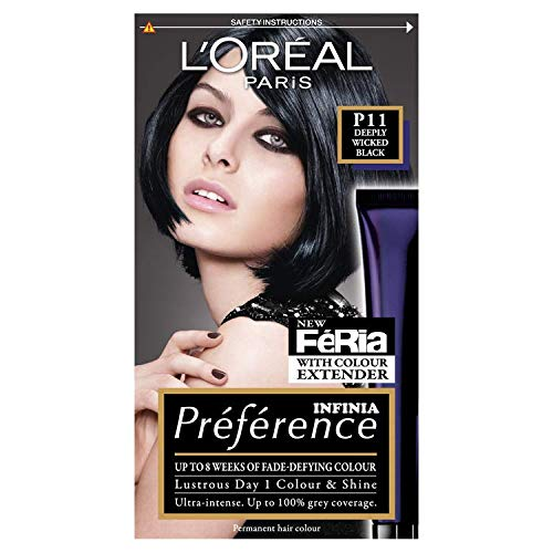 L'Oréal Féria P11 Deeply Wicked Black -