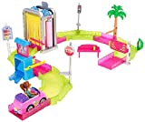 Barbie FHV91 On The Go Waschanlage Spielset, Multicolour