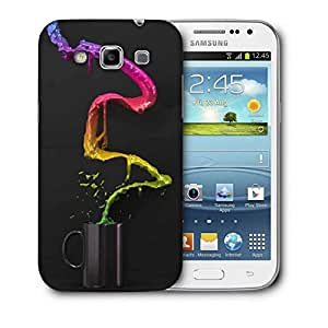 Snoogg Colorful Water Printed Protective Phone Back Case Cover For Samsung Galaxy Samsung Galaxy Win I8550 / S IIIIII