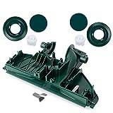 Bodenplatte passt für Vorwerk Elektrobürste EB 350 351, Räder, Felgen