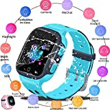 Reloj Inteligente Para Niños LBS Tracker Reloj Infantil Reloj De Pulsera Digital De 1,44 Pulgadas Reloj Despertador SOS Reloj Anti Perdida Para Niños Niñas Edad 3-12 Niños Niñas Con IOS / Android