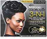 Luster's Shortlooks Color Relaxer 3-n-1 Diamond Black by Lusters