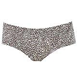 Frauen-Unterwäsche, Frauen-niedrige Taille reizvolle Leopard-Druck-Schlüpfer-Nahtlose tragen Hinterteil-Unterwäsche(M-# 4)