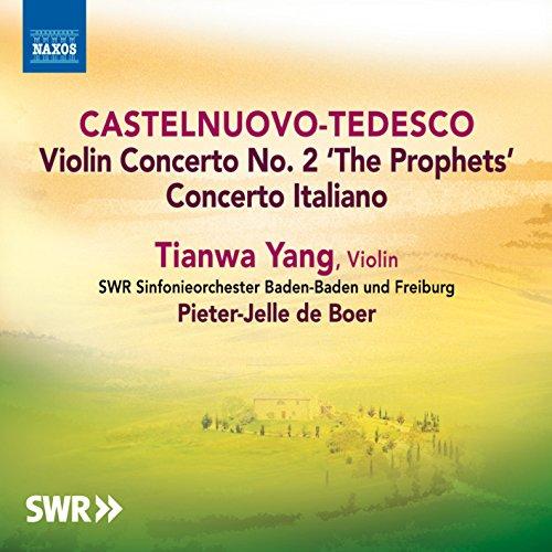 Castelnuovo-Tedesco: Violin Concertos (Violin Tedesco)