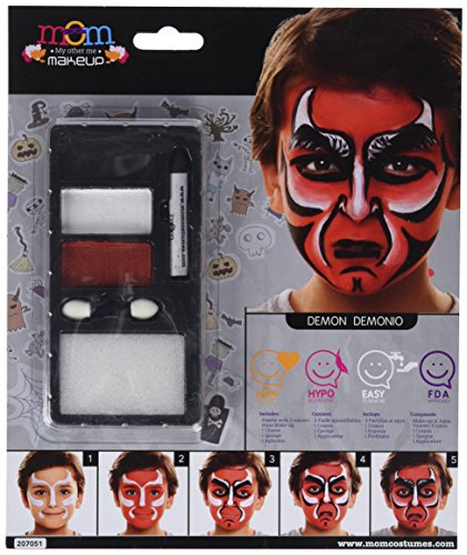 My Other Me Me-207051 Kit Maquillaje Infantil Demonio