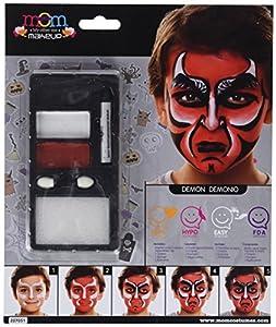My Other Me Me-207051 Kit Maquillaje Infantil Demonio, Talla única (Viving Costumes 207051)
