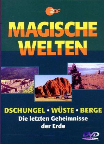 Dschungel, Wüste, Berge - Die letzten Geheimnisse der Erde (3 DVDs)