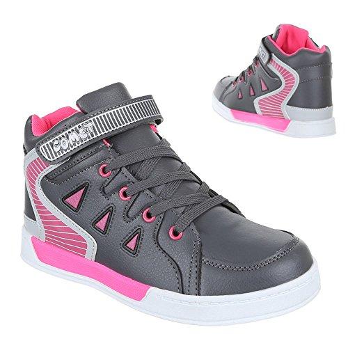 Sapatos Tênis Infantis Cinzentas Atléticas 6 712 Casuais Calçados qIBxw5pw