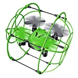 Enjoydeal Mini Drohne Quadcopter, 2,4 GHz 4CH 6 Axis mit Höhenstabilisator, Headless Modus Drone kinder, Fernbedienung Sky Walker Kletterwand Flugzeug Spielzeug für Anfänger