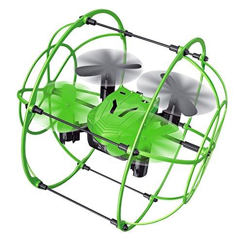 Enjoydeal Mini Drohne Quadcopter, 2,4 GHz 4CH 6 Axis mit Höhenstabilisator, Headless Modus Drone kinder, Fernbedienung Sky Walker Kletterwand Flugzeug Spielzeug für Anfänger (Rc Quadcopter Drohnen)