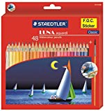 #4: Staedtler 137 C 48 Luna Water Colour Pencil - Pack of 48 (Multicolour)