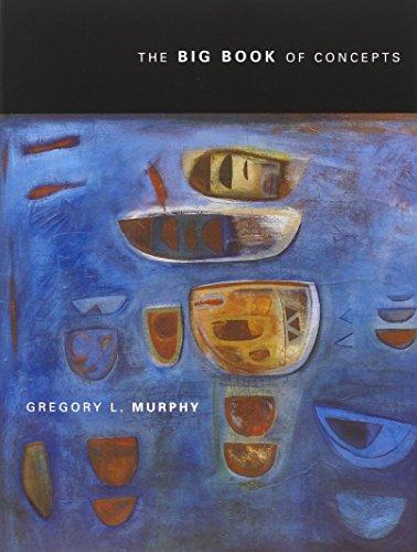 Big Book of Concepts (A Bradford Book) por Gregory Murphy
