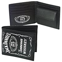 Jack Daniel's - Cartera de hombre con el logo clásico, color negro de Close Up