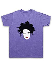 Inspired by Cure Robert Smith Unofficial Mens T-Shirt