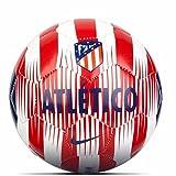 Nike ATM Nk Skls Balón, Blanco/Rojo (Sport) / Azul (Deep Royal), S