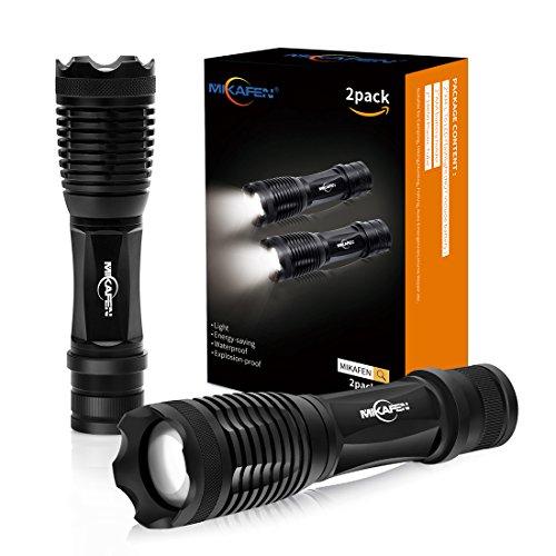 2Stk. LED Taschenlampe 5 Modi, hohes Lumen, skalierbar, wasserabweisend, Handleuchten – ideal für Camping, Wandern und Spaziergang mit Hunde