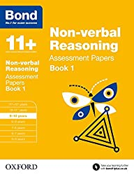 Bond 11+: Non-verbal Reasoning Assessment Papers: 9-10 years Book 1