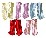 #9: NPRC Unisex New Born Soft Cotton Socks -Pack of 5 (Multicolor_0-6 Months)